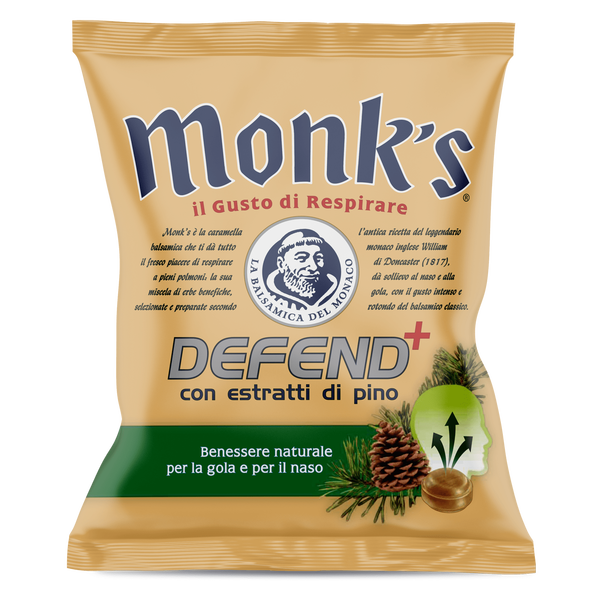 <p>Busta da 46 g Monk's Defend+ pino</p>